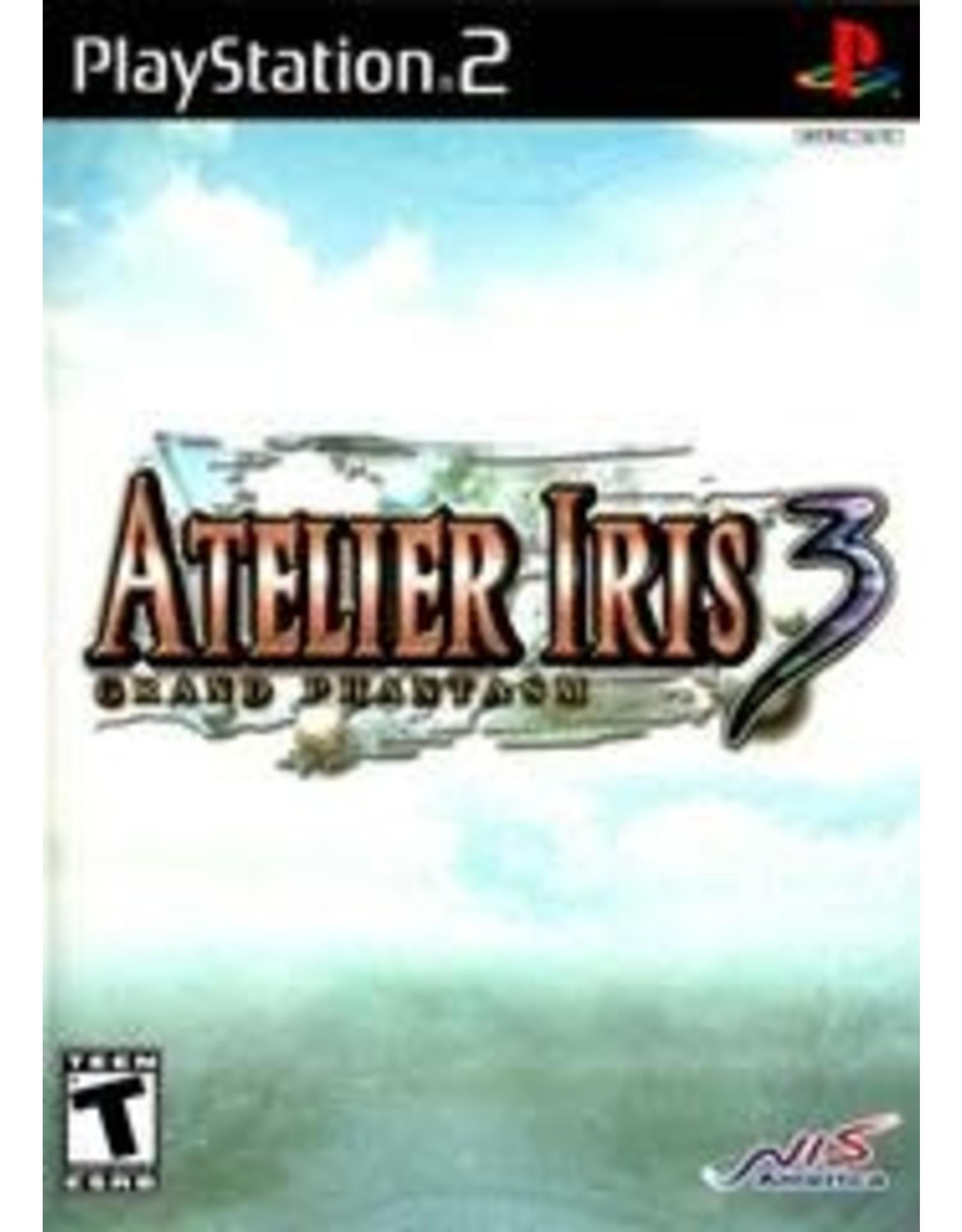 Playstation 2 Atelier Iris 3 Grand Phantasm (CiB)
