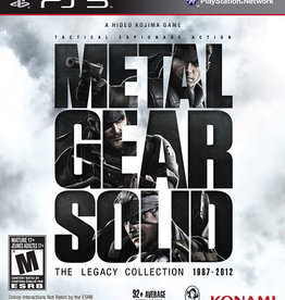Playstation 3 Metal Gear Solid The Legacy Collection (Standard Version)