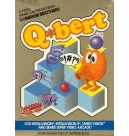 Intellivision Q*bert (Cart Only)