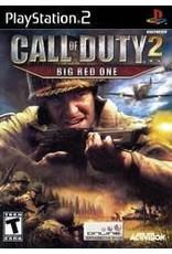 Playstation 2 Call of Duty 2 Big Red One (CiB)