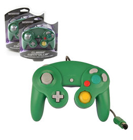Nintendo Gamecube Gamecube Controller Teknogame (Green/Blue)