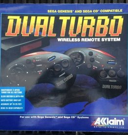 Sega Genesis Dual Turbo Wireless Remote System (CIB, Used)