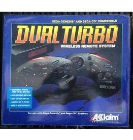Sega Genesis Dual Turbo Wireless Remote System (CIB, Used)
