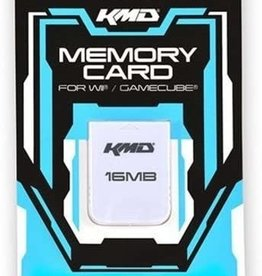 Nintendo Gamecube Wii Gamecube Memory Card 16MB 251 Blocks (KMD)