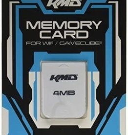 Nintendo Gamecube Wii Gamecube Memory Card 4MB 59 Blocks (KMD)