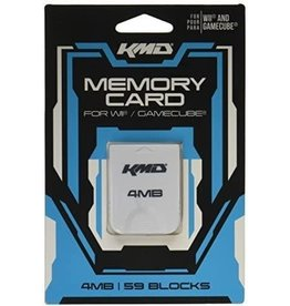 Nintendo Gamecube Wii Gamecube Memory Card 4MB 59 Blocks (KMD)