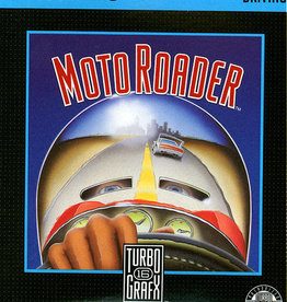 TurboGrafx-16 Moto Roader (Case & Manual)