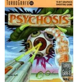 TurboGrafx-16 Psychosis (Case & Manual)