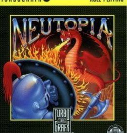 TurboGrafx-16 Neutopia (Case & Manual)