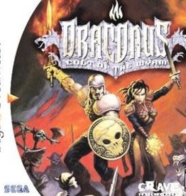 Sega Dreamcast Draconus Cult of the Wyrm (CIB)