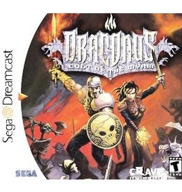 Sega Dreamcast Draconus Cult of the Wyrm (CIB)