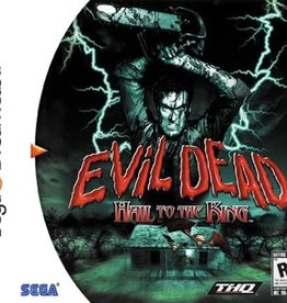 Sega Dreamcast Evil Dead Hail to the King (CIB)