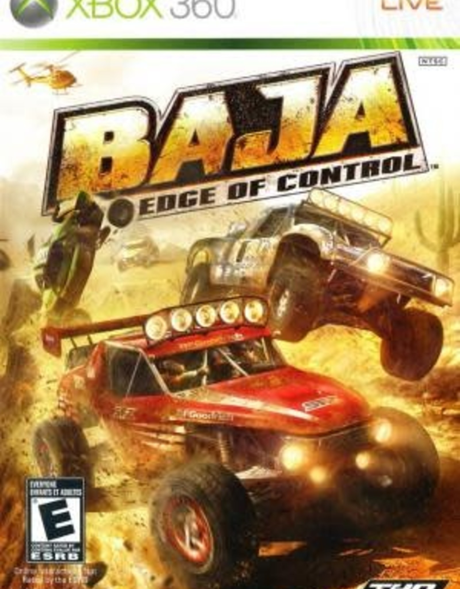 Xbox 360 Baja Edge of Control