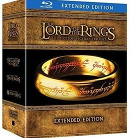Used Bluray Lord of the Rings Trilogy Extended Edition