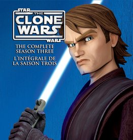 Used Bluray Star Wars The Clone Wars Season Three