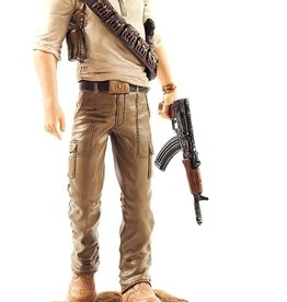 Uncharted 3 Nathan Drake Statue (Includes Belt Buckle and Ring)