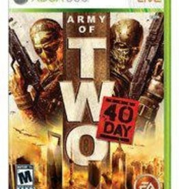 Xbox 360 Army of Two: The 40th Day (No Manual)