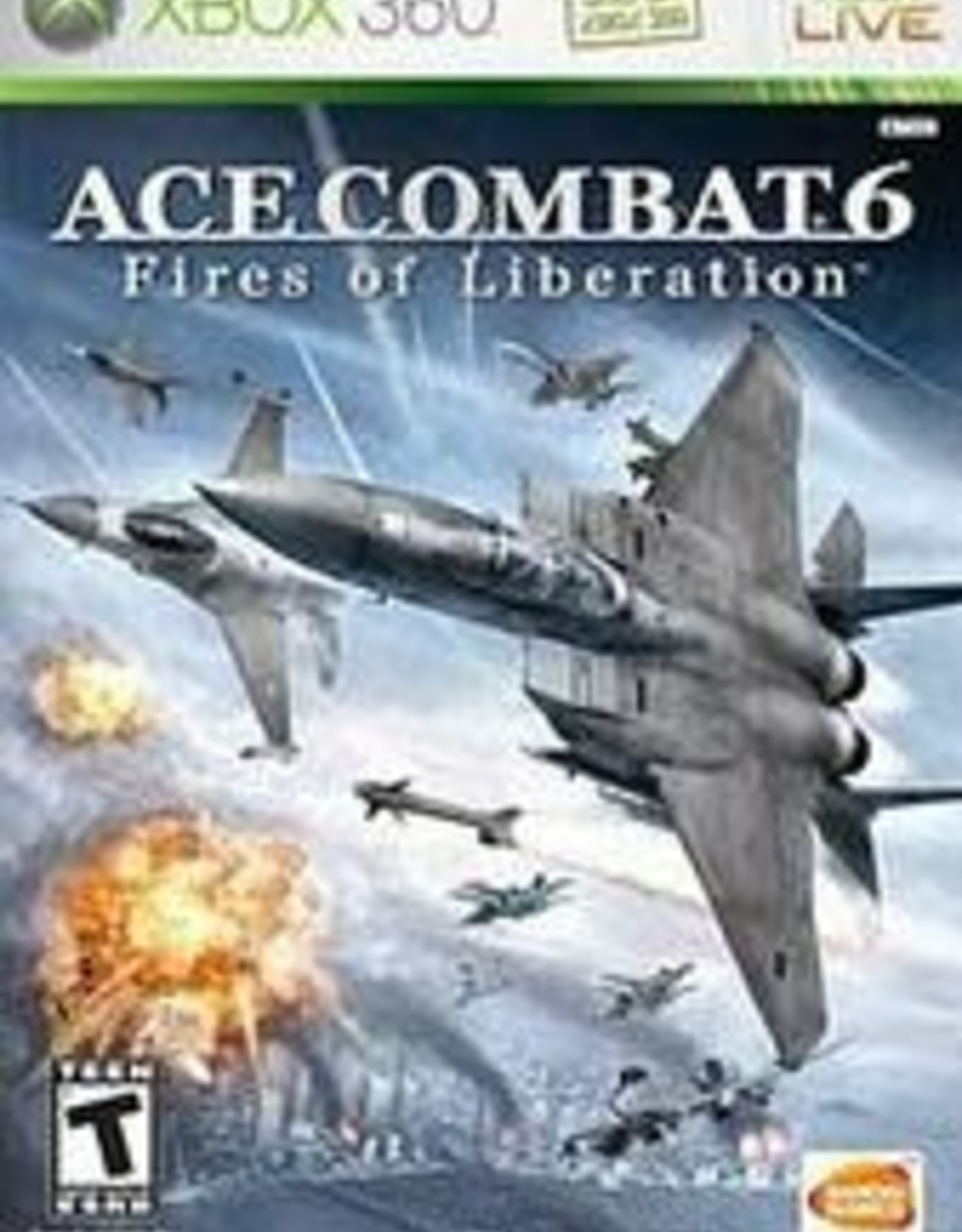 Xbox 360 Ace Combat 6 Fires of Liberation (No Manual)