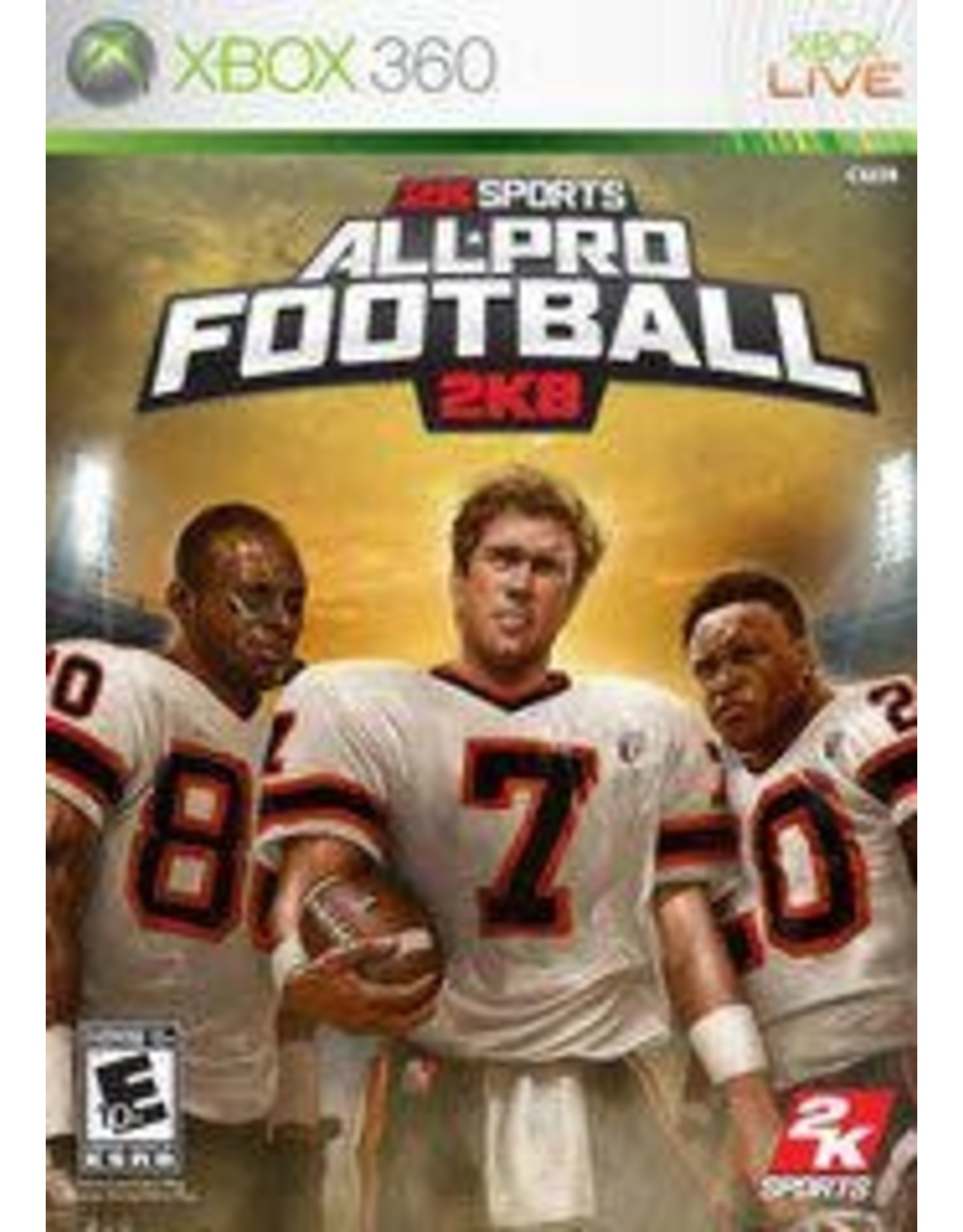 Xbox 360 All Pro Football 2K8 (CiB)