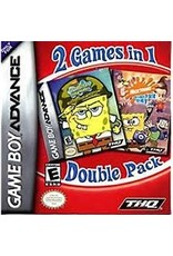 GameBoy Advance Battle for Bikini Bottom & Freeze Frame Frenzy Double Pack (Cart Only)