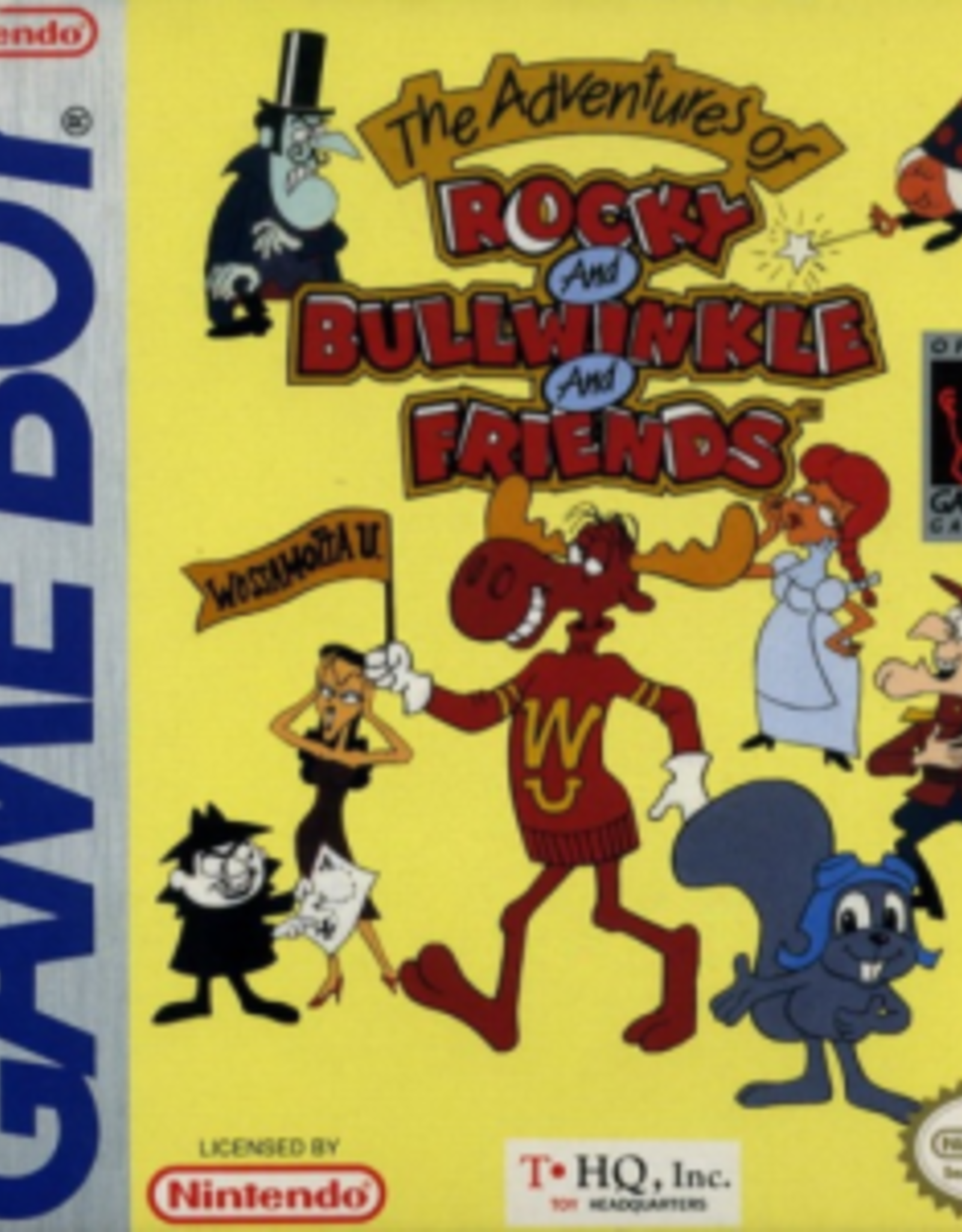 GameBoy Adventures of Rocky and Bullwinkle and Friends (Cart Only)