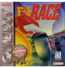 GameBoy F-1 Race (Cart Only, Damaged Label)