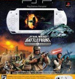 PSP PSP 2000 Limited Edition Star Wars Battlefront Version W/ Memory Card
