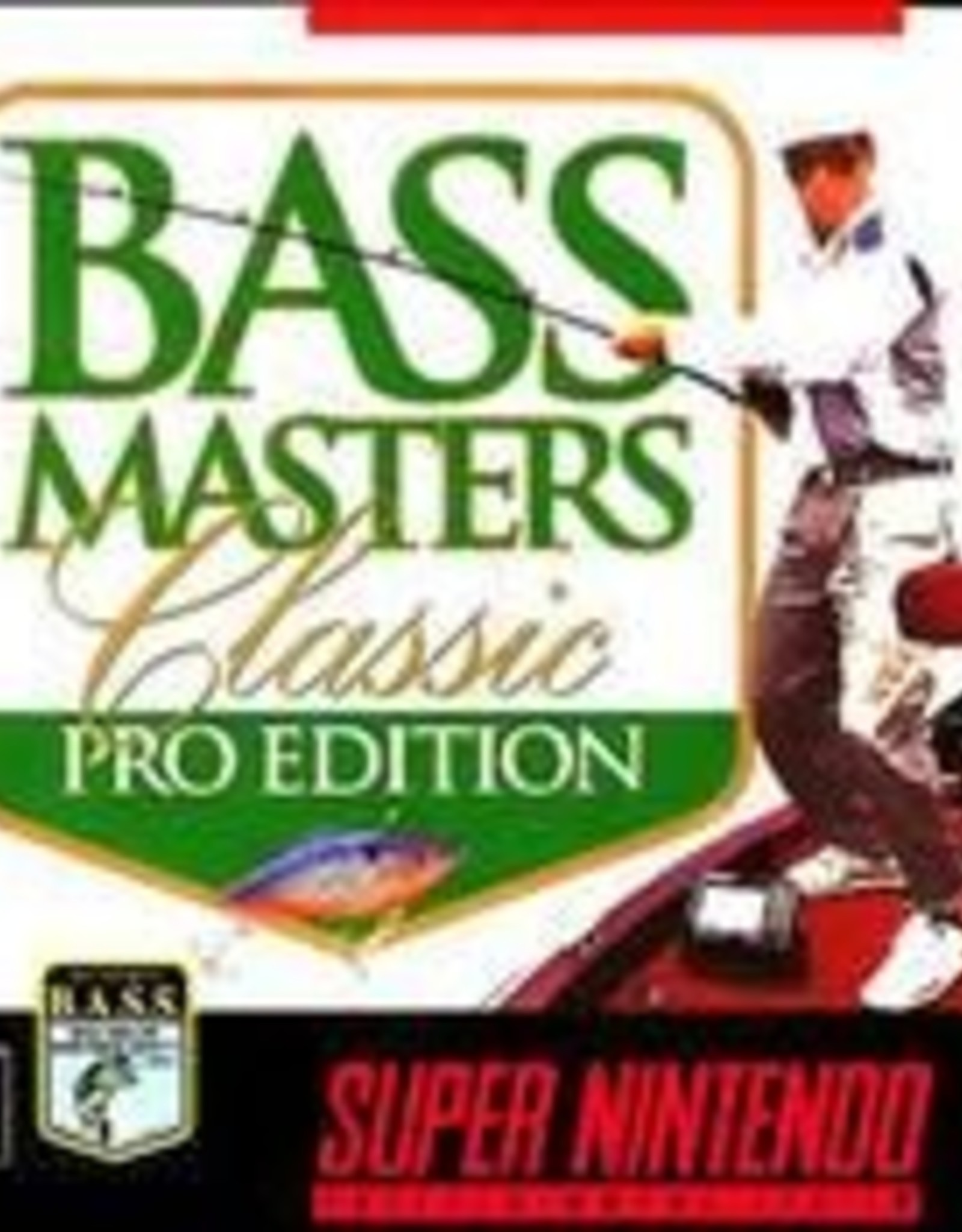 Super Nintendo Bass Masters Classic Pro Edition (Boxed No Manual)