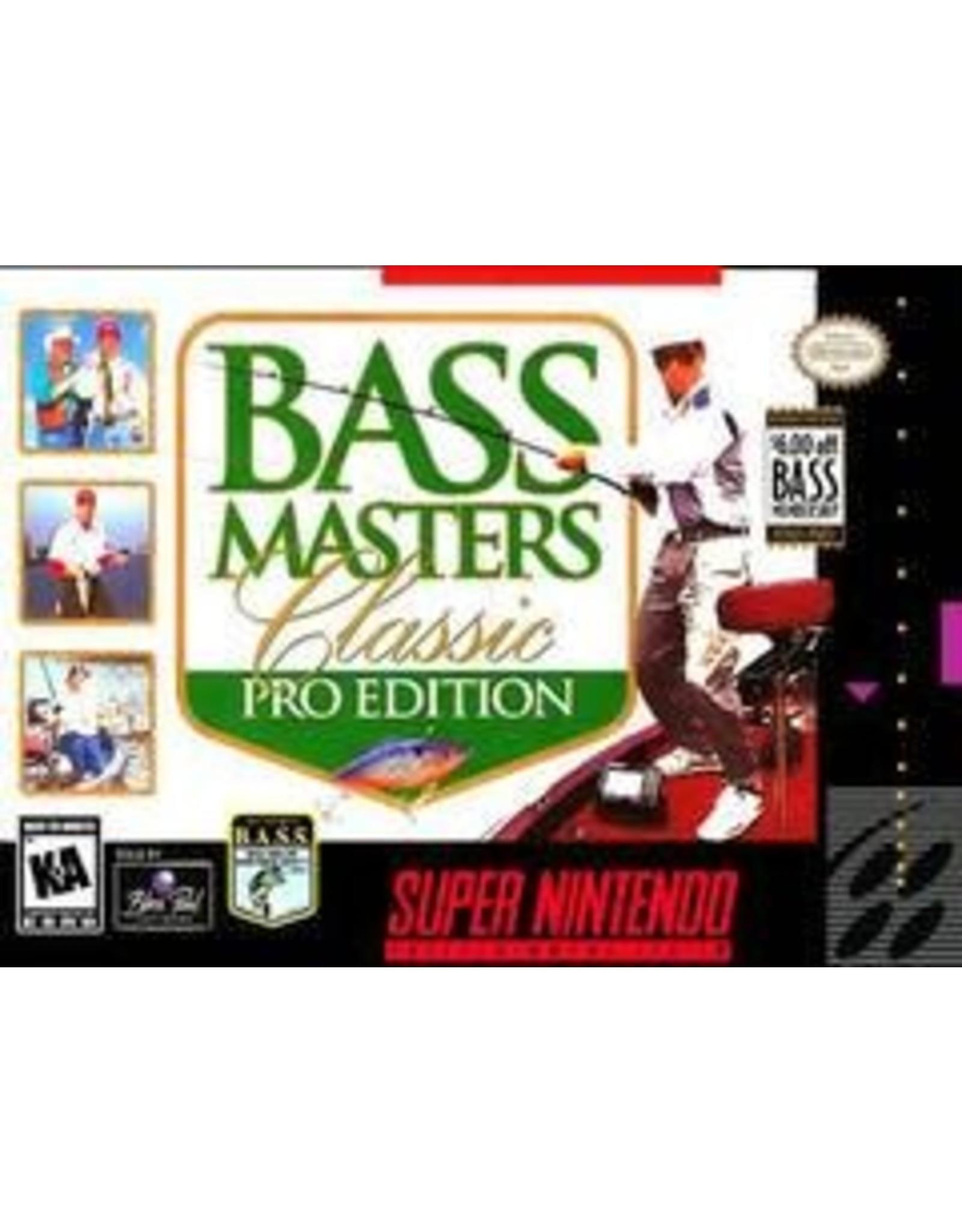 Super Nintendo Bass Masters Classic Pro Edition (Boxed No Manual)
