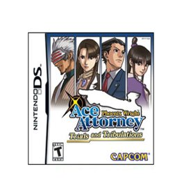 Nintendo DS Ace Attorney Trials and Tribulations (Brand New)
