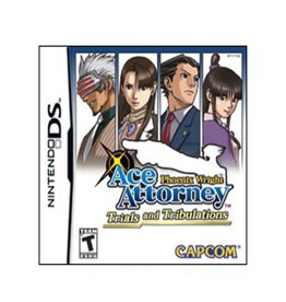Nintendo DS Ace Attorney Trials and Tribulations (Cart Only)