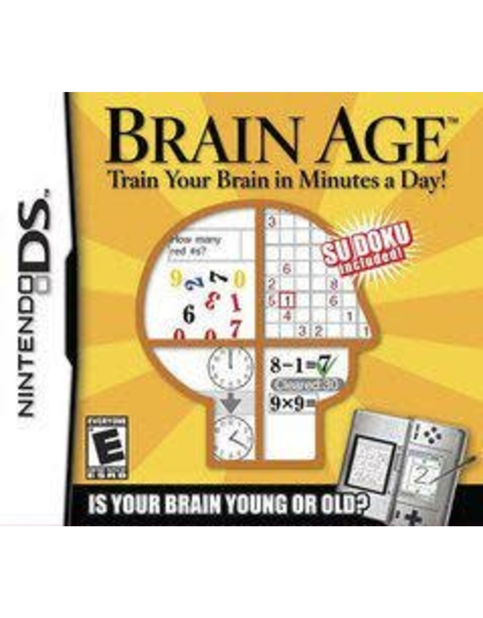 Nintendo DS Brain Age (Cart Only)