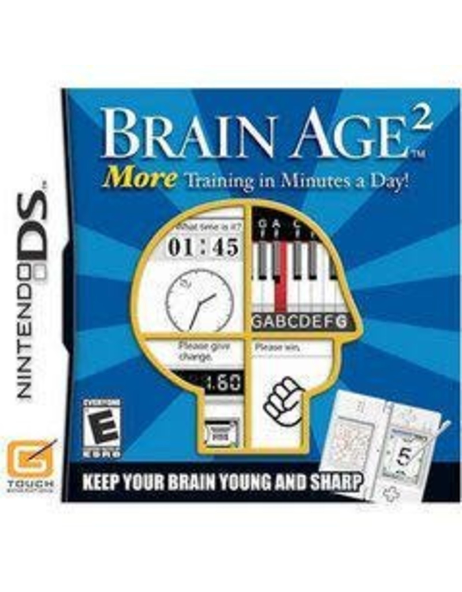 Nintendo DS Brain Age 2 (Cart Only)