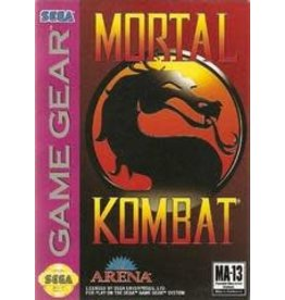 Sega Game Gear Mortal Kombat (Cart Only)