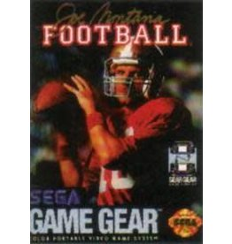 Sega Game Gear Joe Montana Football (Cart Only)