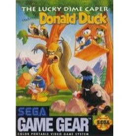 Sega Game Gear Lucky Dime Caper Starring Donald Duck (Cart Only)