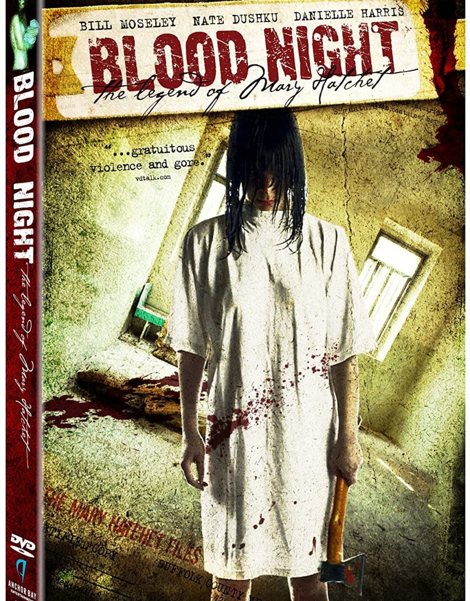 Horror Cult Blood Night The Legend of Mary Hatchet (USED)