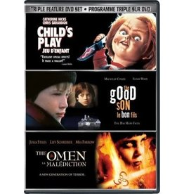 Horror Cult Child's Play / The Good Son / The Omen 2006 Triple Feature (USED)
