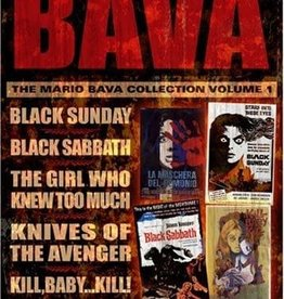 Horror Cult BAVA The Mario Bava Collection Volume 1 (USED)