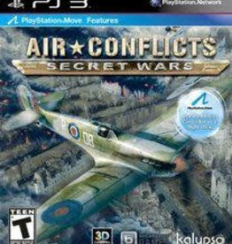 Playstation 3 Air Conflicts: Secret Wars (No Manual)