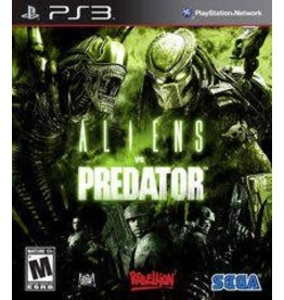 Playstation 3 Aliens vs. Predator (No Manual)