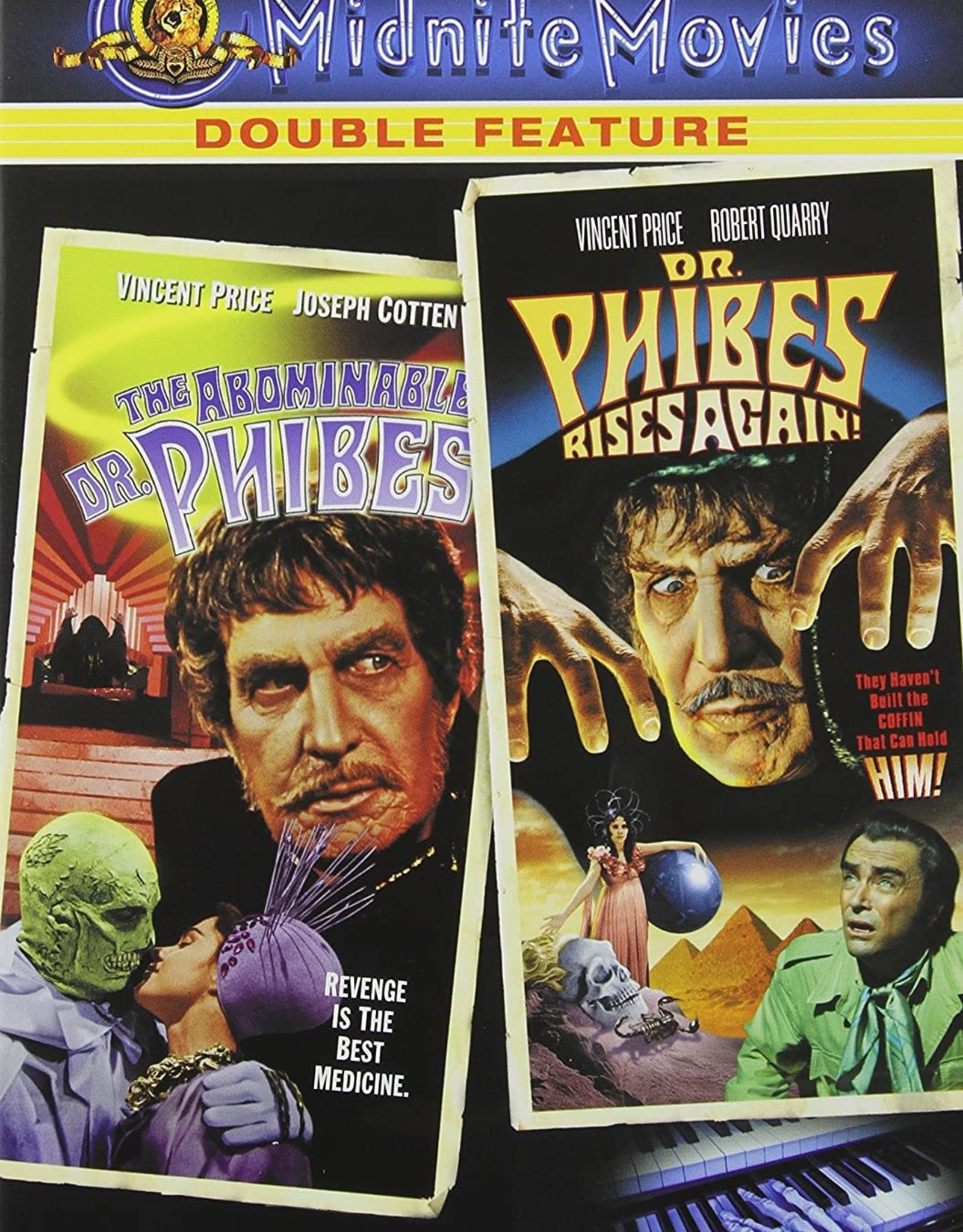 Horror Cult Abominable Dr. Phibes / Dr. Phibes Rises Again! (USED)