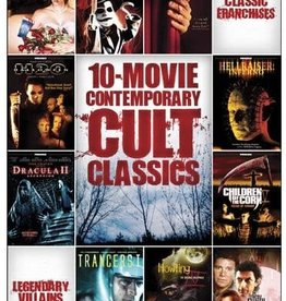 Horror Cult 10 Movie Contemporary Cult Classics (USED)