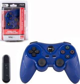 Playstation 3 PS3 Wireless Controller (TTX, Blue)