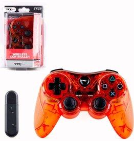 Playstation 3 PS3 Wireless Controller (TTX, Orange)