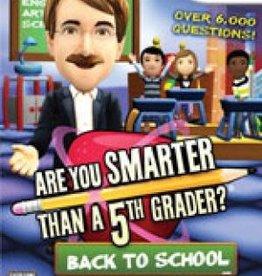 Wii Are You Smarter Than A 5th Grader? Back to School