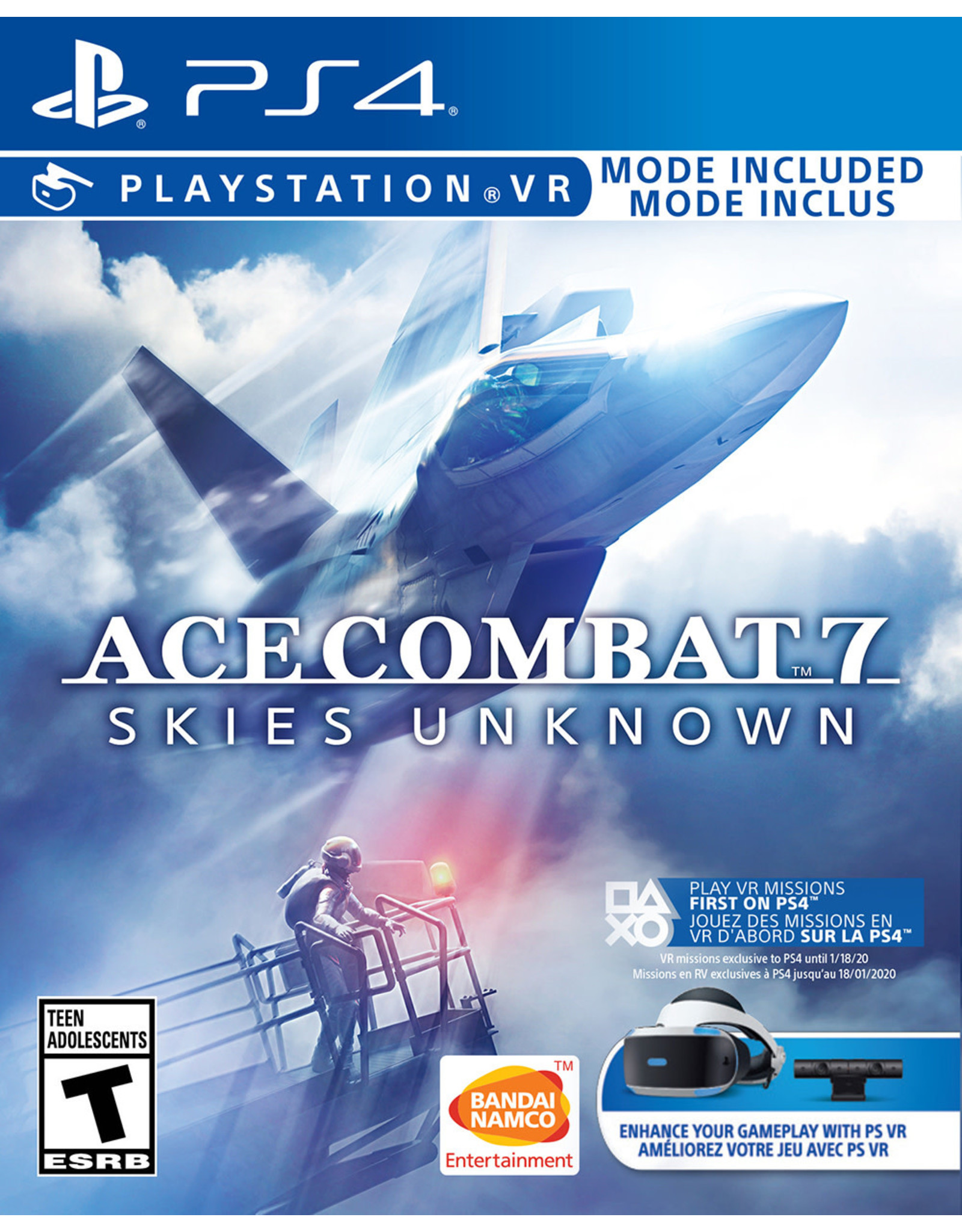 Playstation 4 Ace Combat 7 Skies Unknown (CiB)
