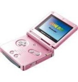 GameBoy Advance Gameboy Advance SP (Pink,  AGS 101, Scratched Shell)