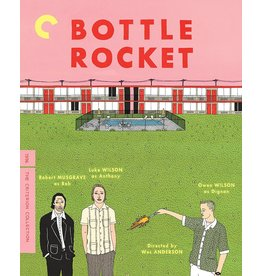 Criterion Collection Bottle Rocket Criterion Collection (Used) *Damaged Case*
