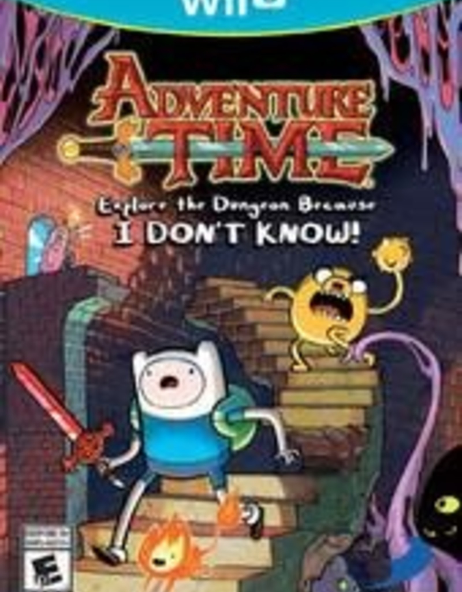Wii U Adventure Time: Explore the Dungeon Because I Don't Know
